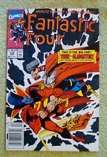 Fantastic Four #339 (Apr 1990, Marvel) 9.2 NM- (Thor)