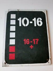 Old vintage timetables schedules (Soviet)