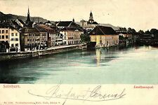 Solothurn, Landhausquai, 1903 von Solothurn nach Graz versandt