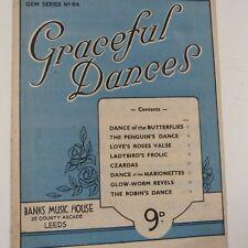 piano GRACEFUL DANCES Gem Series No 84