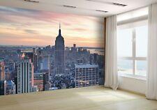 New York City Skyline Aerial View  Wallpaper Mural Photo 14360634 premium paper