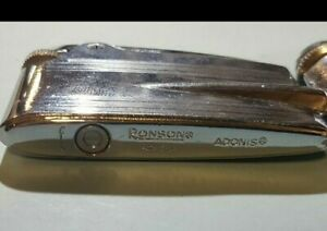 Lot of three Ronson vintage lighters parts/repair  sold as-is #6