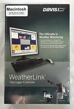 Davis 6520 WeatherLink for Macintosh for Vantage Pro2 6152 6162 Weather Station