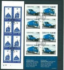 Faroe Islands 2010/13 - 3 Nice Booklets - Cancelled - 2 Scans