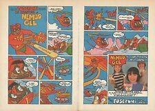 X9466 Le avventure di Nembo Gel - Gelati Toseroni - Pubblicità 1977 - Advertis.