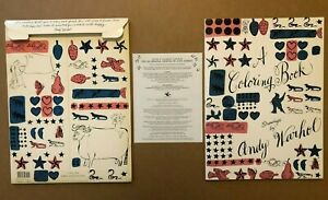 A COLORING BOOK DRAWINGS BY ANDY WARHOL SIMON & SCHUSTER 1990 FIRST EDITION NICE