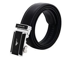 """Gentlemen's septwolves peau de vache ceinture boucle automatique pour Costume 35 """" -35"""" / 120cm"""