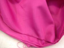 doublure coupon de tissu   acetate viscose rose fuchia :3 x 1 m 40 refs step