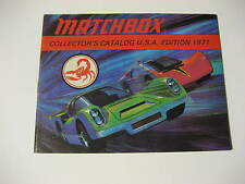 1971 Matchbox Collector's Guide Catalog U.S.A. Edition