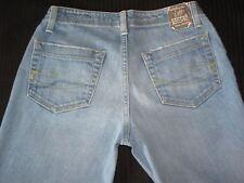 Chip & Pepper Traveler Bootcut Jeans Women Size 26 Blue Distressed w Stretch L29