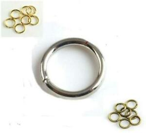 TOP QUALITY JUMP RINGS 4mm 5mm 6mm 7mm 8mm 9mm 10mm VERY STRONG 1 MM