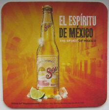SOL EL ESPIRITU DE MEXICO Cervez Beer COASTER, MAT, Spirit, MEXICO 2012 issue