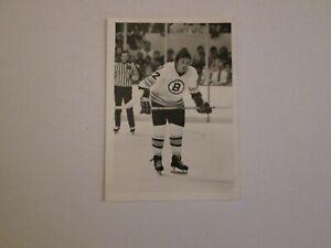 NHL Boston Bruins Legend Brad Park Original Photo