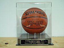 Basketball Display Case For Your Dirk Nowitzki Mavericks Autographed Basketball