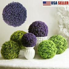 Artificial Hanging Tary Lavender Ball Shop Faux Wood Plants Garden Patio Decors