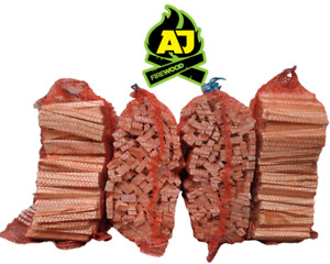Premium AJ Firewood Kiln Dried Eco Kindling Wood Next Day Delivery Ready To Burn