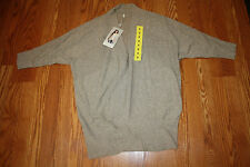 NWT Womens LEO & NICOLE Shawl Cardigan Long Sweater Cedar Bluff Half Sleeve 2XL