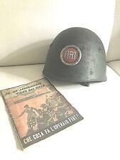 MOD 33 helmet FIAT PAA flak wk2 WWII FIAT unpa fireman   PAA LIBRETTO