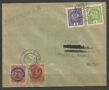 CZECHOSLOVAKIA / AUSTRIAN 1918. PROVISIONAL POSTAGE DUE COVER. T OVERPRINTS ON A