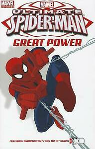 Ultimate Spider-Man: Great Power Screen Cap Digest (English) Paperback