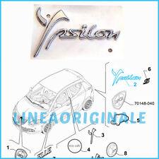 Scritta Stemma ORIGINALE Lancia Ypsilon logo fregio nuovo Posteriore