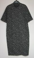 New Marks & Spencer Animal Print Midi Shift Dress - Size 6 - 18