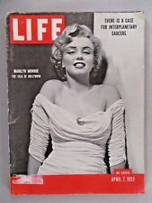 Life Magazine - April 7, 1952 ~~ Marilyn Monroe