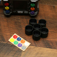 Fader Knob Colored Coded Tops + XLR Input Protectors for Zoom F6 Field Recorder