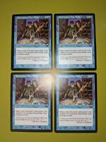 Accumulated Knowledge x4 Nemesis 4x Playset Magic the Gathering MTG