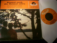 """7""""EP - PETER LAUCH + TOM & TOMMY-Einmal noch die Heimat seh'n+3-Polydor(1959GER)"""