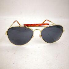 Aviation Pilot Style Sunglasses Metal Frame Full Rim