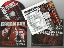 GREEN DAY - Last Night On Earth : Live In Tokyo (EP)- 2009 JAPAN OBI