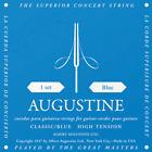 AUGUSTINE BLEU jeu de cordes guitare classique fort tirant