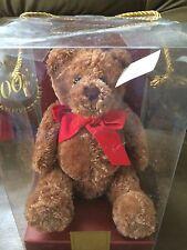 Lenox Teddy Bear 100th Anniversary Plush American Bears Brown Red Bow