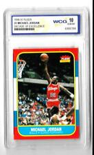 1996-97 MICHAEL JORDAN FLEER DECADE OF EXCELLENCE Graded Gem WCG PSA 10 LQQK WOW