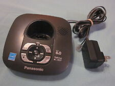 Panasonic KX-TG6431 Cordless Phone Handset Charging Base w Power Supply #20