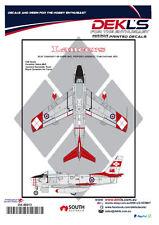 Decals Canadair Sabre - RCAF Lancers Aerobatic Team 1/48 Scale