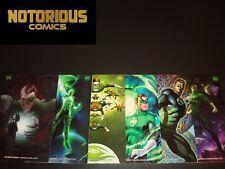 Green Lantern 1 2 3 4 5 6 Complete Variant Set Comic Lot Morrison DC Collection