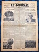 La Une Du Journal Le Journal 18 Janvier 1906 Élection D'Armand Fallières