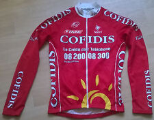 Team radtrikot cofidis nalini Tour Thermo Lang size s 2 Cycling Jersey Long Top