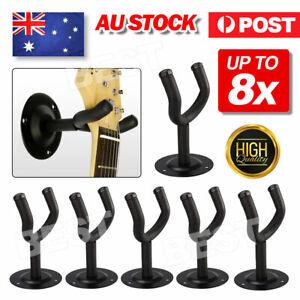 Guitar Hanger Wall Mount Holder Hook Rack Bracket Padded Instrument Display
