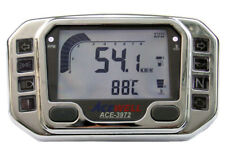Acewell ACE-3972CP Chromed CNC digital speedometer Tachometer