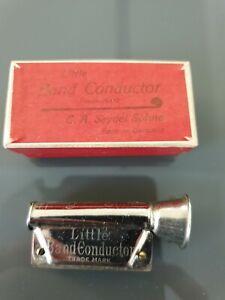 C.A. SEYDEL Mundharmonika LITTLE BAND CONDUCTOR mit Schachtel gebraucht.