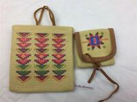 American Girl Kaya Bag & Belt Pouch (noBelt) from Meet Accessories Set~AG tags