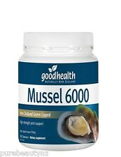 Good Health Mussel 6000 New Zealand Green Lipped Mussel (300 caps)