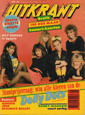 WEEKBLAD HITKRANT 1983 No. 38 - DOLLY DOTS/FLEXI POLLE EDUARD/ACCEPT/THE SHORTS