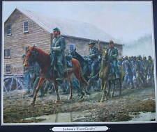""" Jacksons Foot Calvary "" Mort Kunstler Civil War print"