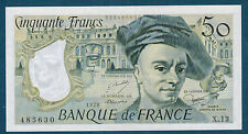FRANCE - 50 FRANCS QUENTIN DE LA TOUR Fayette n°67.3 de 1978 en NEUF X.13 485631