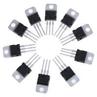 10 pcs new TIP142T in-line TO-220 NPN Darlington transistors Voltage Regula xcMW
