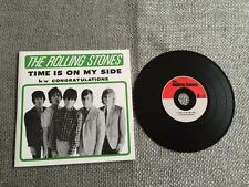 Rolling Stones CD Single Time Is On My Side / Congratulations Card Sleeve